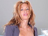 Juicy tits secretary has sex