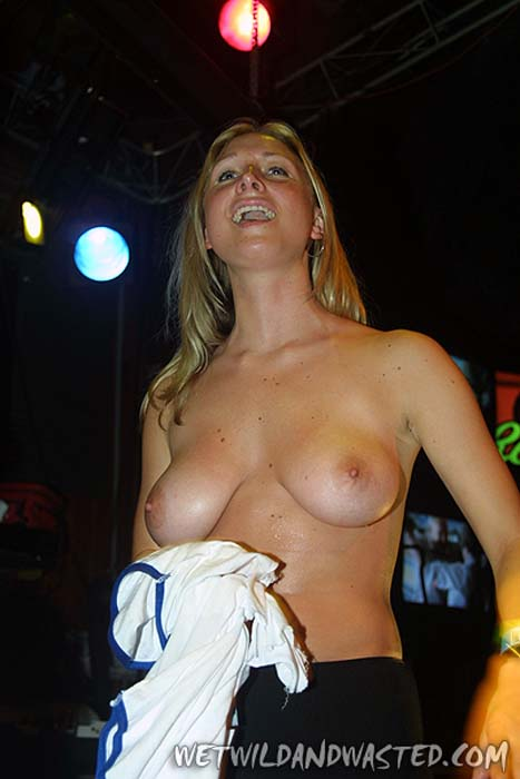 Was and Hot college girls wet t shirt contest think, that